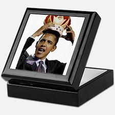King Barack Obama Keepsake Box