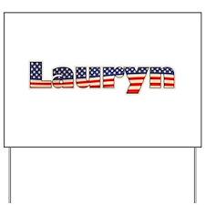 American Lauryn Yard Sign