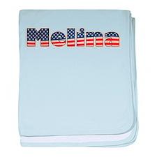 American Melina baby blanket