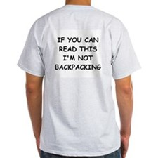 Funny Backpacking T-Shirt