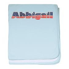 American Abbigail baby blanket