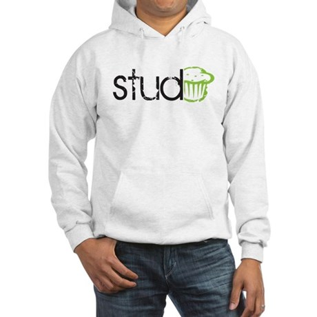 Stud Muffin -- Hooded Sweatshirt