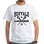 Buffalo Lacrosse White T-Shirt