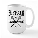 Buffalo Lacrosse Large Mug