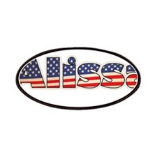 American Alissa Patches