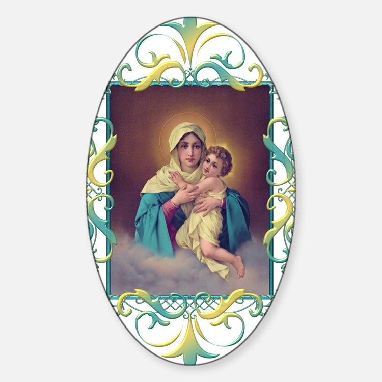 MTA - Our Lady of Schoenstatt Sticker (Oval)