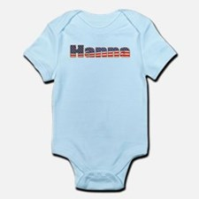 American Hanna Infant Bodysuit