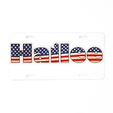 American Hailee Aluminum License Plate