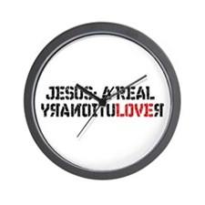Wall Clock - Jesus knows it's time for Revolution