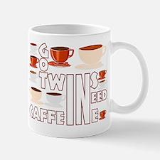 Got twins, need caffeine Mug