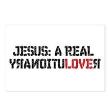 Postcards (8 of 'em) Jesus Christ Revolutionary