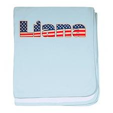 American Liana baby blanket