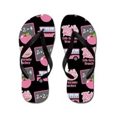 5th Grade Teacher Gift Flip Flops