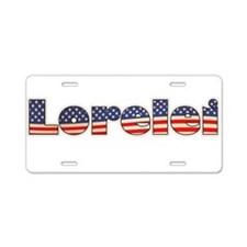 American Lorelei Aluminum License Plate