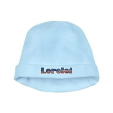American Lorelei baby hat