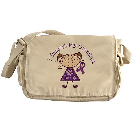 Alzheimers Support Grandma Messenger Bag