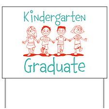 Kindergarten Graduate Yard Sign