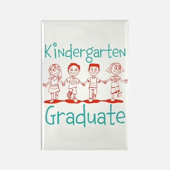 Kindergarten Graduate Rectangle Magnet