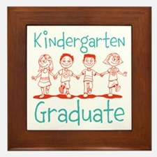 Kindergarten Graduate Framed Tile