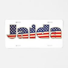 American Jaida Aluminum License Plate