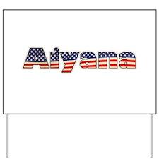 American Aiyana Yard Sign