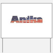 American Anika Yard Sign