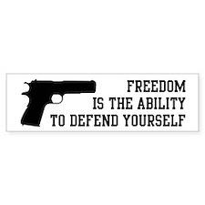 Defend Freedom Car Sticker
