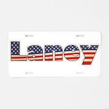 American Laney Aluminum License Plate