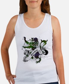Gordon Tartan Lion Women's Tank Top