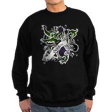 Gordon Tartan Lion Jumper Sweater
