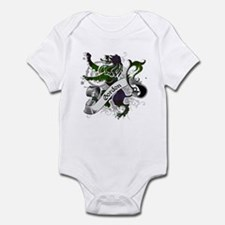 Gordon Tartan Lion Infant Bodysuit