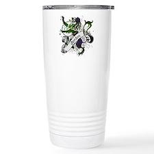 Gordon Tartan Lion Travel Mug