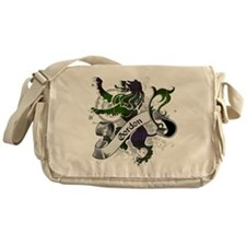 Gordon Tartan Lion Messenger Bag