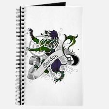 Gordon Tartan Lion Journal
