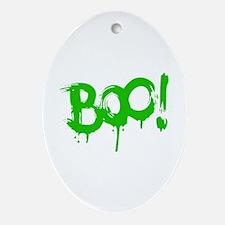 BOO! Ornament (Oval)