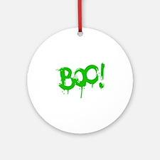 BOO! Ornament (Round)