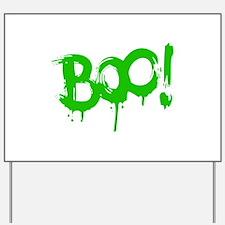 BOO! Yard Sign