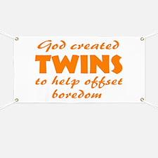 Twins offset boredom Banner
