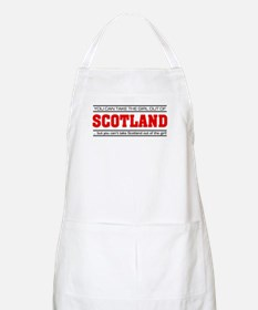 'Girl From Scotland' Apron