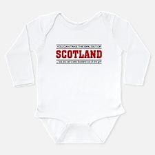 'Girl From Scotland' Long Sleeve Infant Bodysuit
