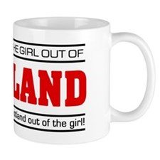 'Girl From Scotland' Mug