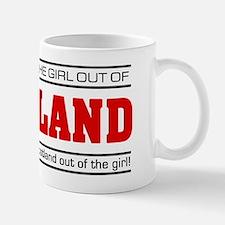 'Girl From Scotland' Small Mugs