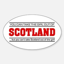 'Girl From Scotland' Decal