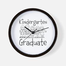 Kindergarten Graduate Wall Clock