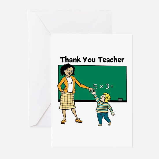 Thank You Teacher Greeting Cards (Pk of 20)