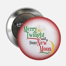 "Twilight New Moon Christmas 2.25"" Button"