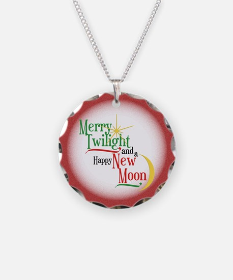 Twilight New Moon Christmas Necklace