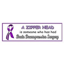 BumperBumper StickerZipperHeadpng Bumper Bumper Sticker