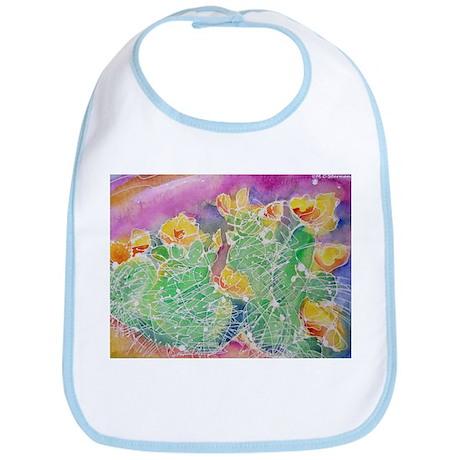 Cactus, Southwest, art, Bib