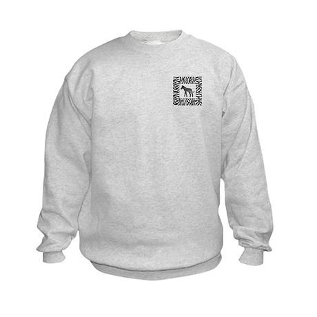 Zebra Kids Sweatshirt